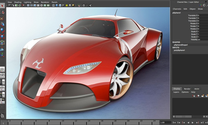 School of Interactive Design: 1, 3, or 12 Months of Photoshop, Game Design, and 3D Animation Courses at School of Interactive Design (Up to 92% Off)