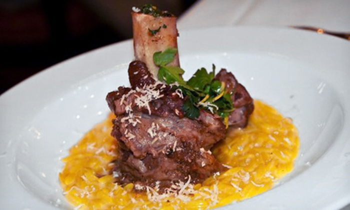 Cafe Italia - Northland: Osso-Buco Dinner for Two Valid Sunday–Thursday or Any Day at Cafe Italia (Up to 60% Off)
