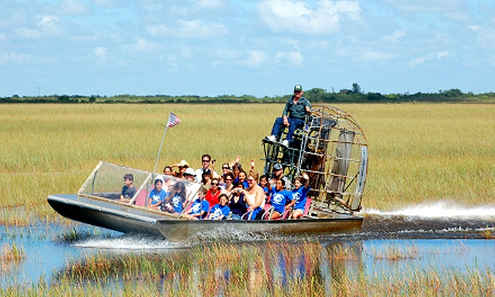 Coopertown Airboat Tours - Everglades: $29 for an Everglades Airboat Tour for Two Adults from Coopertown Airboat Tours (Up to $44 Value)