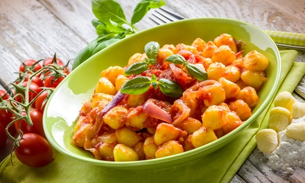 Gnocchi Hands-On Cooking Class with Three Sauces and Wine Pairings for One or Two at Dolce Ristorante (Up to 46% Off)