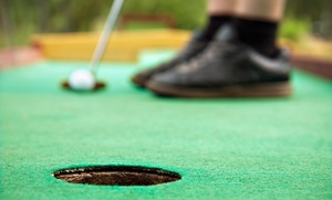 Rivercity Range: 18 Holes of Mini Golf for Two, Four, or Six at Rivercity Range (Up to 64% Off)