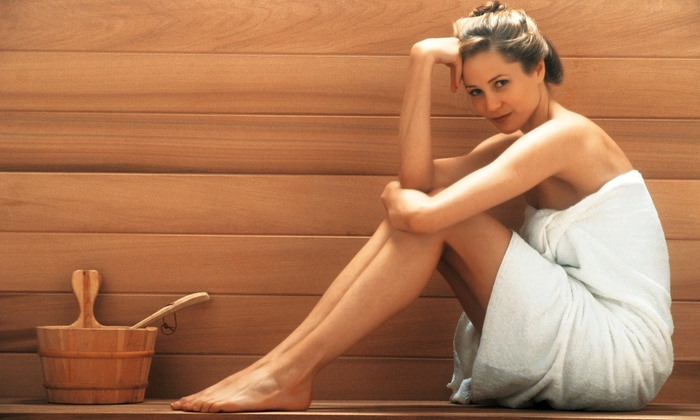 Lather Salon and Spa - Coeur d'Alene: 3, 5, or 10 Infrared-Sauna Sessions at Lather Salon and Spa (Up to 67% Off)