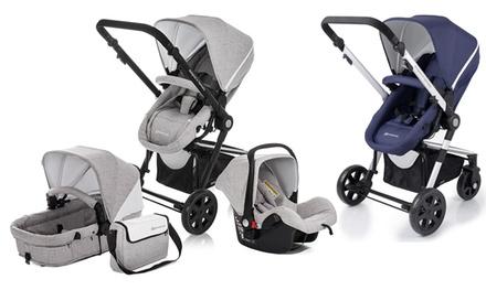 KinderKraft Kinderwagen-Set 3-in-1 in Grau oder Navy (Statt: 649,00 € Jetzt: 279,98 €)