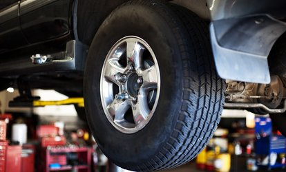 image for Four-Wheel Laser Alignment at Barrack Road Tyres