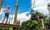 Adventura - aerial adventure park : 2.5-Hour Aerial Adventure Park Visit with Optional Wine Tasting at Adventura (45% Off)