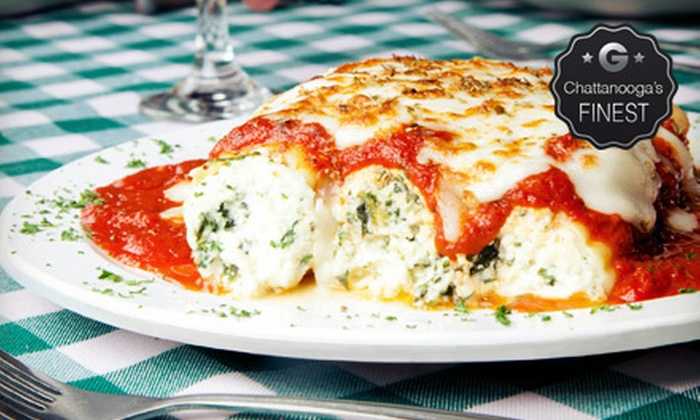 Nino's Italian Restaurant - Signal Mountain: Italian Fare on Friday and Saturday or Monday–Thursday at Nino's Italian Restaurant in Signal Mountain (Up to 60% Off)