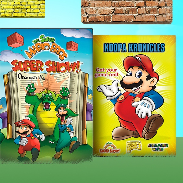 Super Mario Bros Super Show Dvds Groupon Goods
