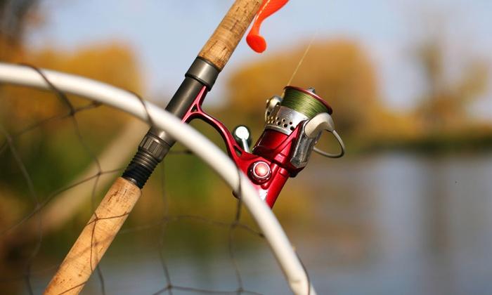 Captain Hook's Charter Fishing - Captain Hook's Charter Fishing: River-Fishing Trip for Two, Four, or Six from Captain Hook's Charter Fishing (Half Off)