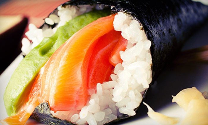 Kaz Japanese Restaurant - Downtown: Five-Course Sushi Dinner for Two or Four with Soup, Appetizer, and Dessert at Kaz Japanese Restaurant (Up to 55% Off)
