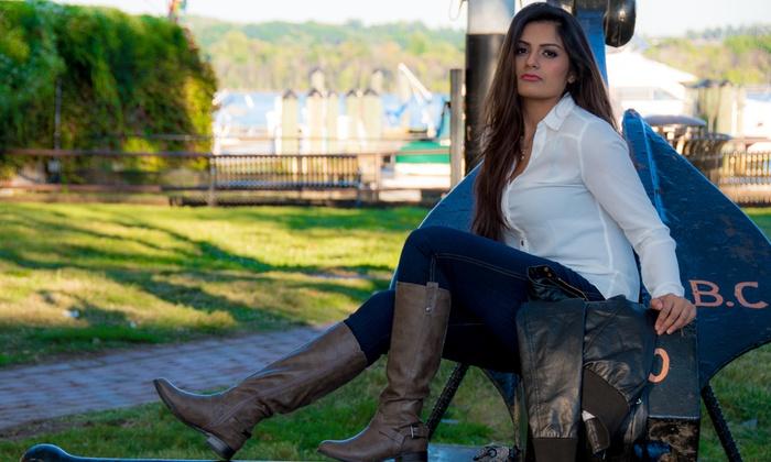 Maira Iqbal Photography - Washington DC: One- or Two-Hour Engagement, Couple, or Glamour Photo Shoots from Maira Iqbal Photography (Up to 60% Off)