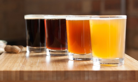 Beer Flights and Draft Beers for Two or Four at           The Parkside (50% Off)