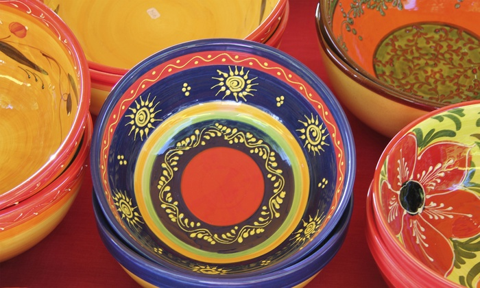 The Mad Potter: Paint-your-own-Pottery Studios - Multiple Locations: Pottery Painting for 1, 2, or 12+ People at The Mad Potter: Paint-Your-Own-Pottery Studios (Up to 52% Off)