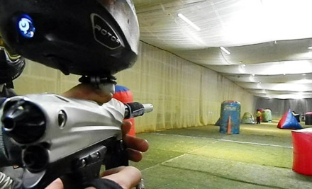 All-Day Paintball Play with Rental Gear and Paintballs for Two, Four, or Six at Reno Indoor Paintball (Half Off)