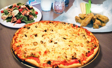 Chicago-Style Pizza and Drinks at Nicolo's Pizza Capitol Hill (Half Off). Two Options Available.