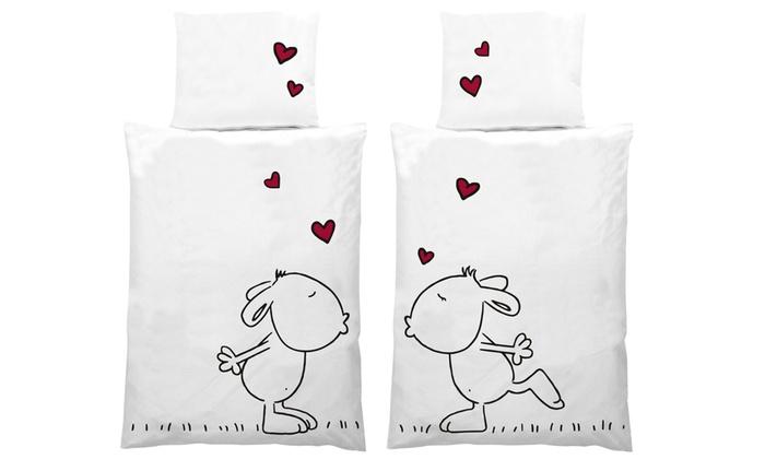 2er Bettwäsche Set Love Groupon Goods