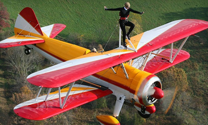 Greenwood Lake Airshow - Greenwood Lake Airport: Greenwood Lake Airshow for Two, Four, or Six on August 18 or 19 (Up to 64% Off)