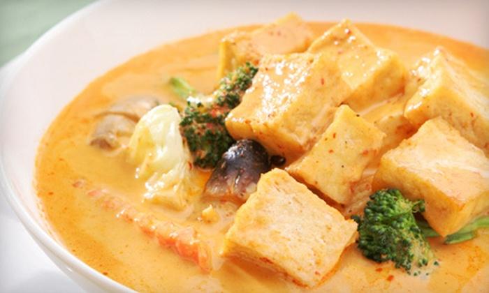 Kao Tong Modern Thai Restaurant - Boca Raton: Thai Cuisine at Kao Tong Modern Thai Restaurant (Half Off). Two Options Available.