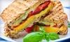 Korner Bistro - Southeast Meridian: Two Panini Combos or Four Signature Sandwich Combos at Korner Bistro (Half Off)
