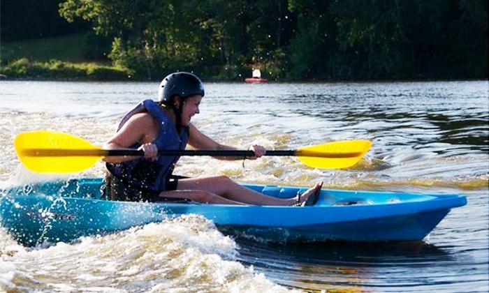 Geneva Kayak Center - Yorkville: Whitewater Tube Rentals and Kayak Courses at Geneva Kayak Center (Up to 56% Off). Three Options Available.