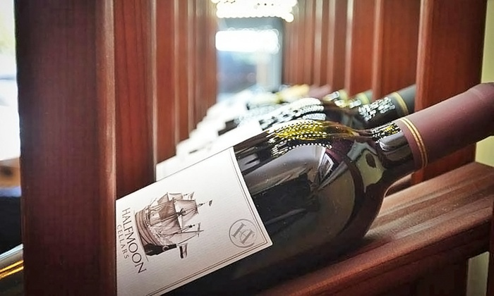 Halfmoon Cellars Winery - Saratoga Springs: Wine Tasting and Chocolate or Cheese Pairing for Two or Four at Halfmoon Cellars Winery (Up to 55% Off)
