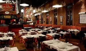 La Robla: $319 en vez de $635 por cena española + botella de vino para dos en La Robla