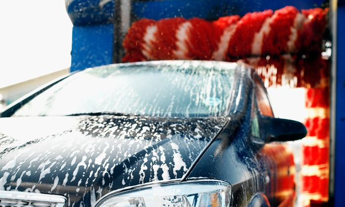 Great American Car Wash - Fresno: Freedom Wash with Waxing, Interior Steam Clean, or Mat Cleaning at Great American Car Wash (Up to 63% Off)