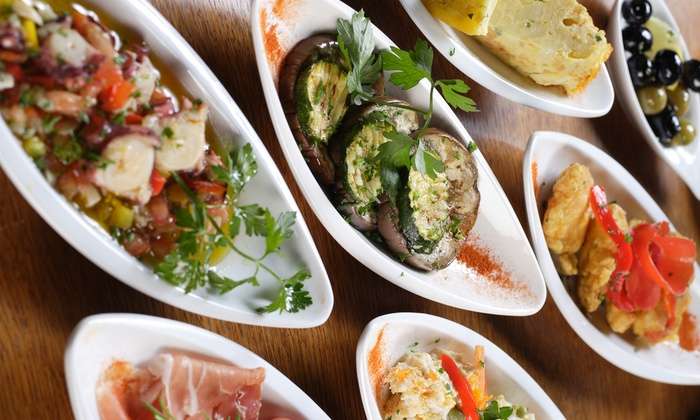 Majorca Bistro and Tapas - Mid-Town Houston: Tapas Meal for Two or Four, Valid Monday–Thursday or Friday–Sunday at Majorca Bistro and Tapas (Up to 58% Off)