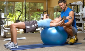 Club Fitness: 5 or 10 Semiprivate Personal-Training Sessions at Club Fitness (Up to 74% Off)
