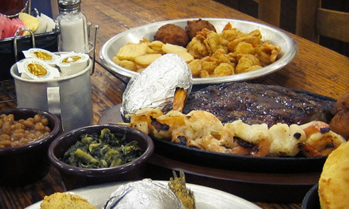 The Catfish Shack - Crestview: $10 for $20 Worth of Seafood and Burgers at The Catfish Shack