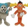 Rocky and Bullwinkle Plush Dog Toy Set