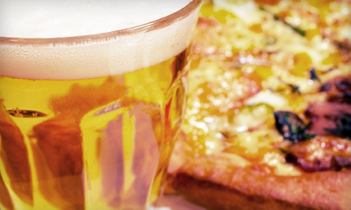 O'Keefe's Pub - St. Louis: One or Two Pizza-and-Pitcher Packages with Large Pizza and Pitcher of Beer at O'Keefe's Pub (Up to 51% Off)
