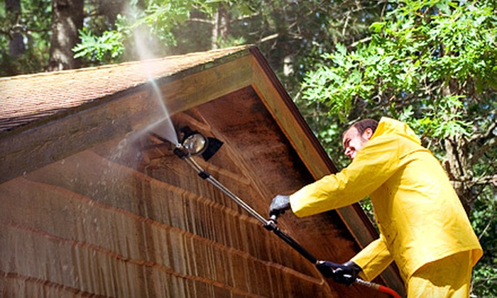 Eagle Pro-Wash - Charlotte: Up to 1,500 or 2,500 Square Feet of Pressure Washing for a House from Eagle Pro-Wash (Up to 60% Off)