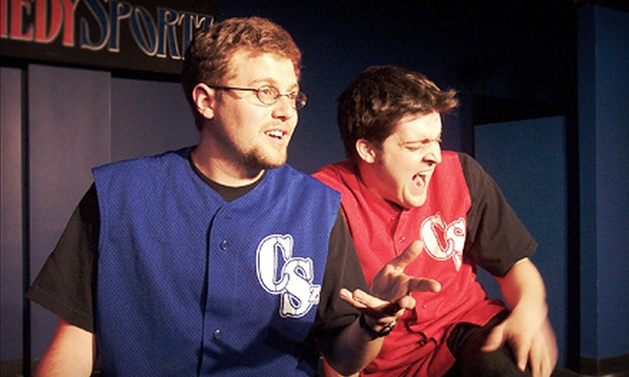 ComedySportz - Adrian: ComedySportz Improv Show at Croswell Opera House on Friday, February 15, at 8 p.m. (Half Off). Two Options Available.