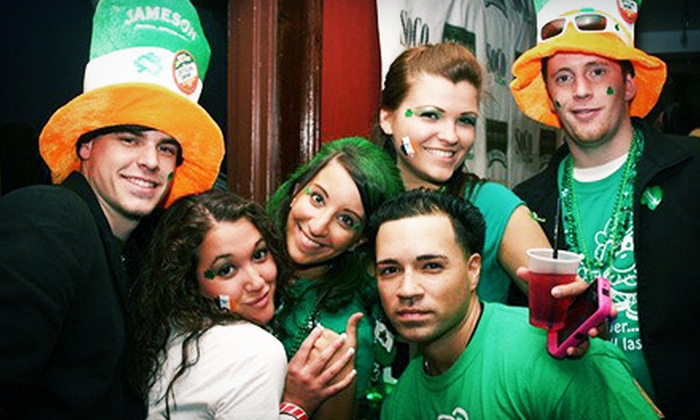 Barcrawls.com - Multiple Locations: Three-Day St. Patrick's Day Party and Bar Crawl for Two, Four, or Six from Barcrawls.com on March 15–17 (Up to 59% Off)