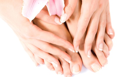 One or Two Manicures and Spa Pedicures at Passion Hair Spa (Up to 53% Off)