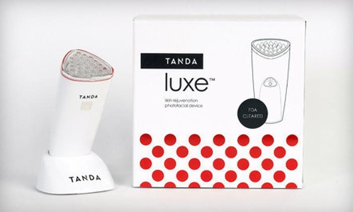 Tanda Luxe Anti-Aging Light Therapy: $95 for Tanda Luxe Anti-Aging Light Therapy ($195 List Price). Free Shipping.