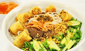 Loving Hut: $15 for $25 Worth of Pan-Asian Vegan Food for Two or More at Loving Hut on Mira Mesa Blvd