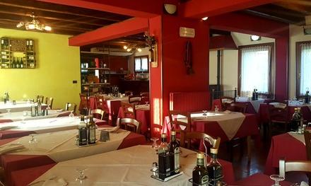 ⏰ Raffinato menu di pesce e vino a 54,90€euro