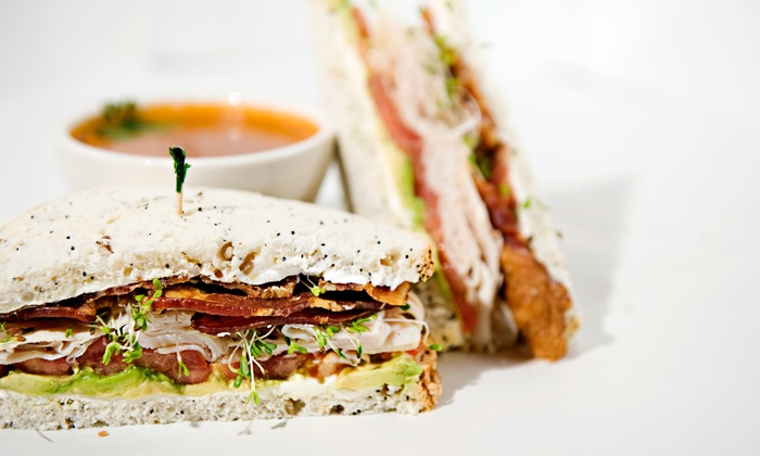 Druthers Cafe and Catering - San Antonio: $16 for 2 Sandwiches or Salads, Soups, & Fountain Drinks at Druthers Cafe and Catering ($28.28 Value)