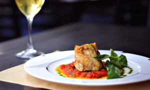 Salutè Piano Bar: Italian Dinner for Two or Four at Salutè Piano Bar (Up to 53% Off). Three Options Available.