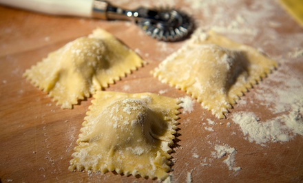 Pasta-Making Class with Dinner for One or Two at Cooking Fools (Up to 49% Off)