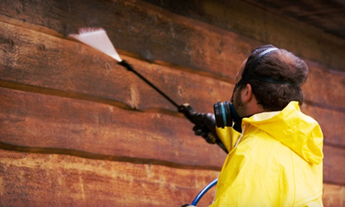 CJ'S Pressure Washing - Houston: Pressure Washing of One- or Two-Story Home from CJ's Pressure Washing (60% Off)