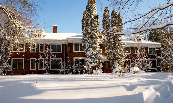 The Outing Lodge - Stillwater, MN: 1- or 2-Night Stay for Two in Pablo Picasso, Eva Peron, or Robert Frost Room at The Outing Lodge in Stillwater, MN