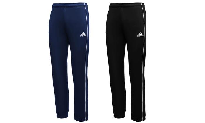 pantaloni tuta uomo adidas core 18