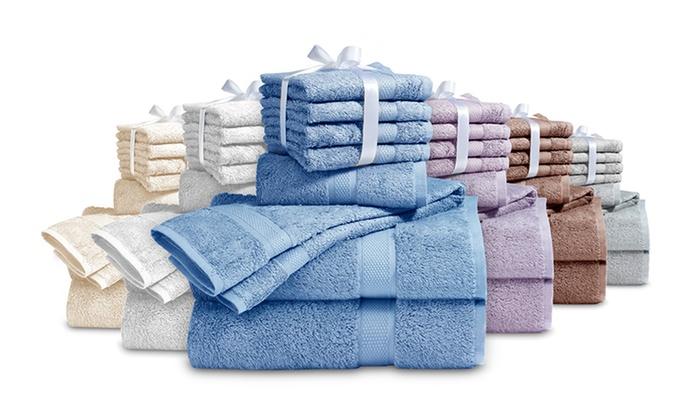 Grand Patrician 8-Piece Supima Cotton Towel Set: Grand Patrician 8-Piece Supima Cotton Towel Set. Six Options Available. Free Returns.