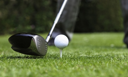 45- or 90-Minute Golf Lesson from Former Touring Pro Bob Swinnerton at Santa Cruz Golf Academy (Up to 46% Off)