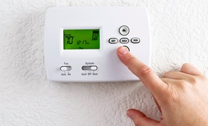 American Air Plus: Digital Thermostat Installation or Programmable Digital Thermostat Installation from American Air Plus (76% Off)
