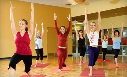 10 Class Pass  - Fountain of Yoga in Philadelphia