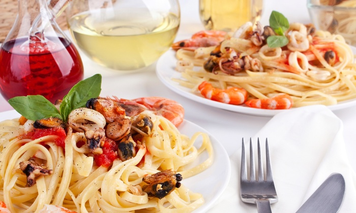 Nicole's Italian Restaurant - Southeast Montgomery: Italian Dinner at Nicole's Italian Restaurant (58% Off). Two Options Available.