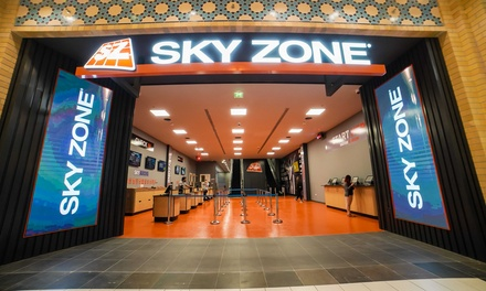One Hour Access to Sky Zone for Up to Two Adults, Weekend or Weekday Available at Sky Zone (Up to 50% Off)